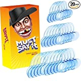 iRainy Dental Cheek Retractor Holiday Family Party Gaming Set - 4 Small,6 Medium & 10 Large, (Pack of 20)