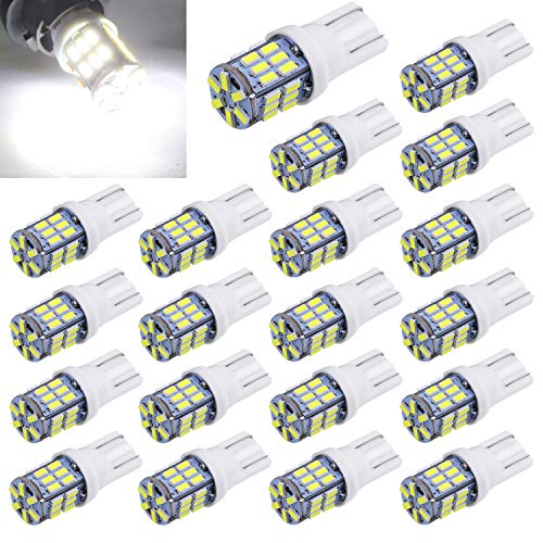 Aucan Super Bright 194 921 168 2825 W5W T10 Wedge 30-SMD, used for sale  Delivered anywhere in USA