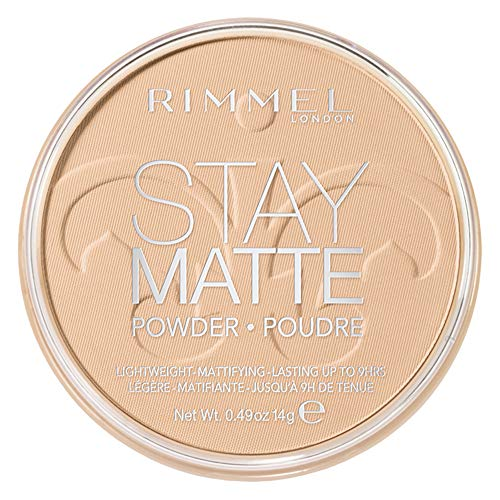 (Rimmel Stay Matte Pressed Powder, Creamy Natural, 0.49 Ounce)