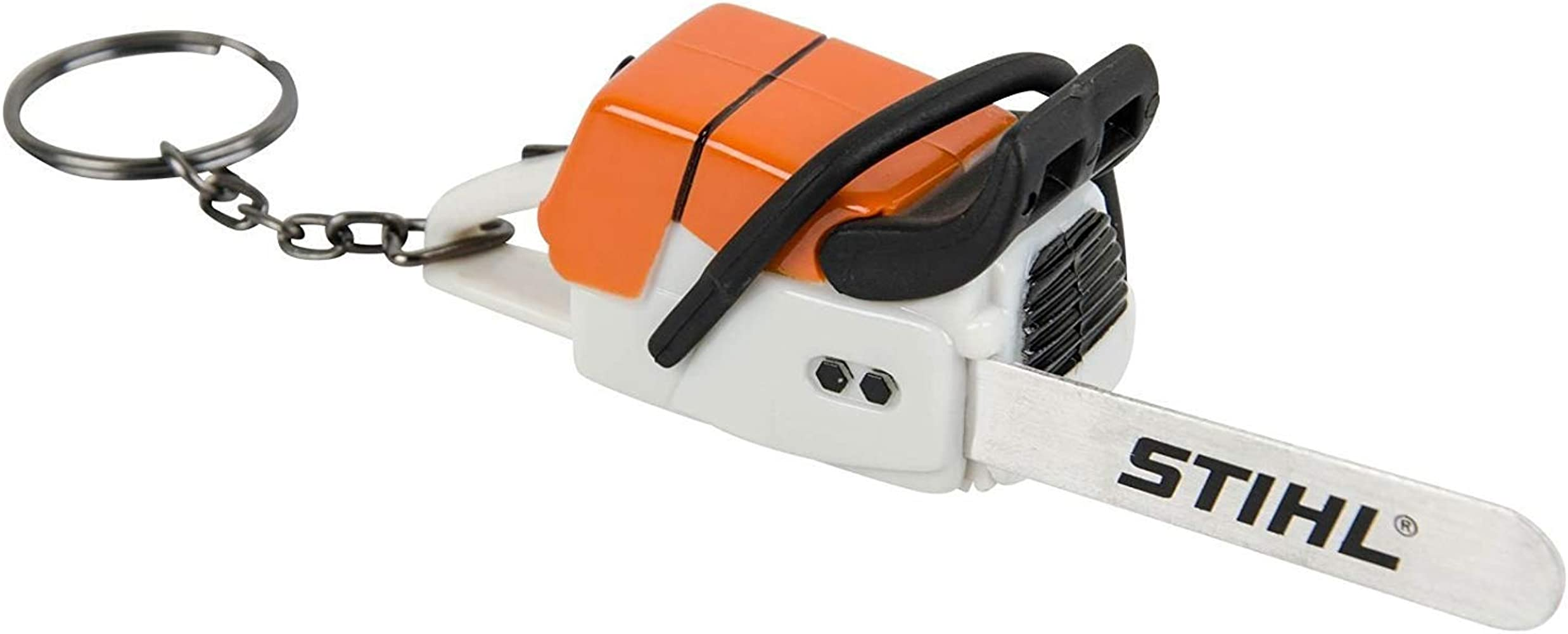 Batterie Stihl Schlüsselanhänger Säge Motorsäge mit Geräusch inkl