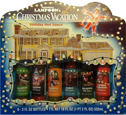 Christmas Gift Set (National Lampoon's Christmas Vacation Holiday Hot Sauce Gift)