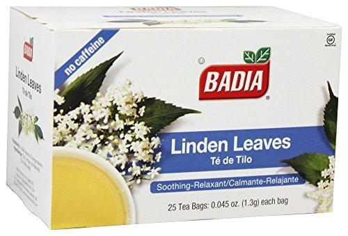 - Badia Tea Linden 25 Bag,