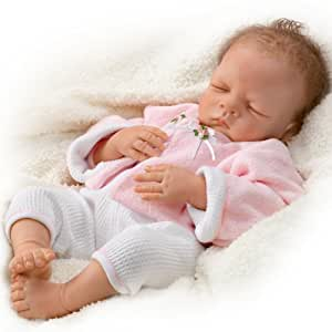 Amazon Com Sleeping Realistic Baby Doll Sweet Dreams