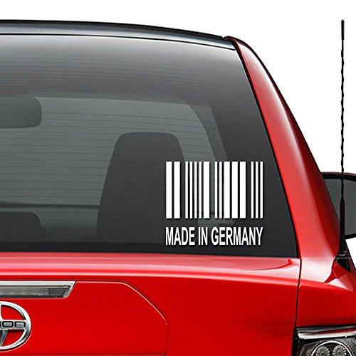 Vinyl Decal Sticker Car Truck Vehicle Bumper Window Wall Decor Helmet Motorcycle and More - (Size 5 inch / 13 cm Wide) / (Color Gloss Black) ()