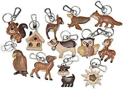 Bomboniera llavero de madera marquetería - Animales Animales ...