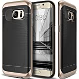 Caseology Wavelength for Samsung Galaxy S7 Edge Case (2016) - Black/Gold