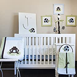 Pam Grace Creations 10 Piece Crib Bedding Set, Mr. & Mrs. Pond