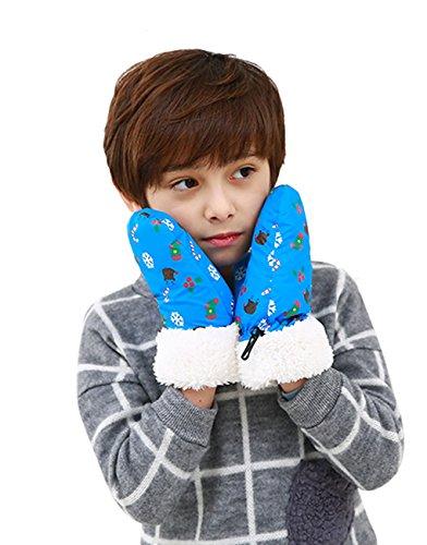 Starsource Winter Outdoor Kids Windproof Waterproof Snowboard Cycling Ski Gloves Mitten,Christmas Gifts ()