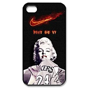 "Los Angeles Lakers Kobe Bryant iPhone6 Plus 5.5""(Laser Technology) Case Cover Marilyn Monroe Best case cover NIKE JUST DO IT"