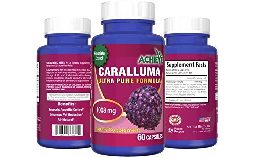 UPC 753807537070, Caralluma Ultra Pure Formula - Natural Weight Loss with Garcinia Cambogia, Caralluma Fimbriata, White Kidney Bean, African Mango, Raspberry Ketone, Forskolin Moringa, and Green Coffee Extract