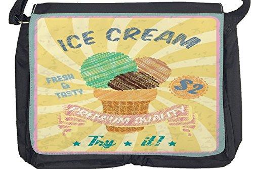 Borsa Tracolla Alimentare Ristorante Ice Cream Stampato