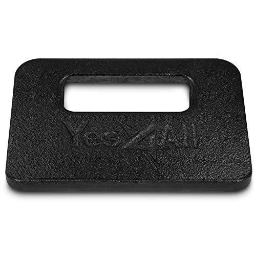 Yes4All Cast Iron Ruck Weight – Multi Ruck Weight Available: 10, 20, 30, and 45 lbs
