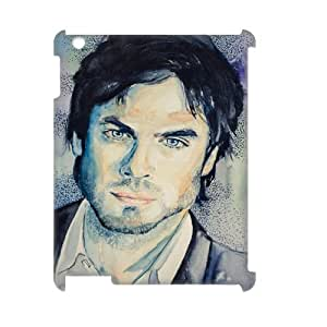 Print Your Own Pictures AXL394875 Best Cover Case For Ipad 2,3,4 3D Cover Case w/ The Vampire Diaries