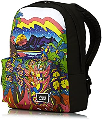 Mochila Vans – Realm Classic Backpack Punta Bella negro/multi