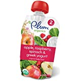 Plum Organics Stage 2, Organic Baby Food, Apple, Raspberry...