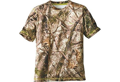 Cabela's Youth Performance Camo Hunting Short-Sleeve T-shirt, Zonz Woodlands, 2XL Regular by Cabela's