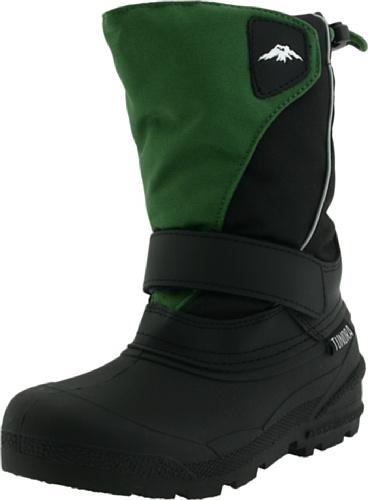 Tundra Kids Quebec Child Winter Boots Black/Grey 7 M US Toddler