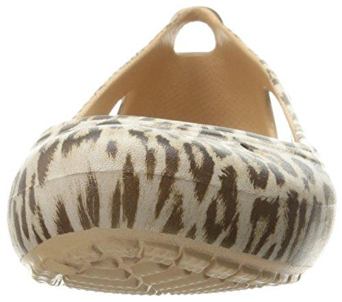 Crocs Damen Kadee Graphic W Flat Leopard
