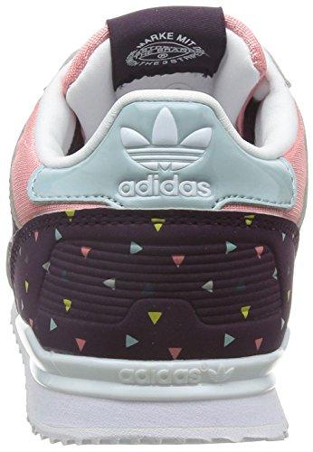 adidas ZX 700 K - Zapatillas para niño Rosa / Morado / Beige