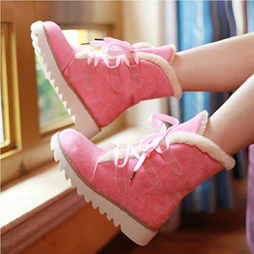 Zh e B Size scarpe Boots Cake con inverno Big Bulk Western autunno Martin HHxw7qgr