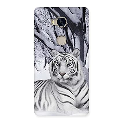 Special Snow Tiger Back Case Cover for Huawei Honor 5X