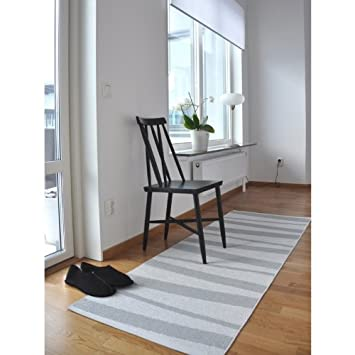 Tapis de couloir gris et blanc zébré ARE 70x100: Amazon.fr: Cuisine ...
