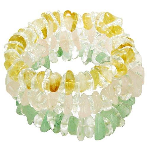 Triple Lucky Money and Love Talisman Gemstone Crystal - Lucky Triple Gemstone
