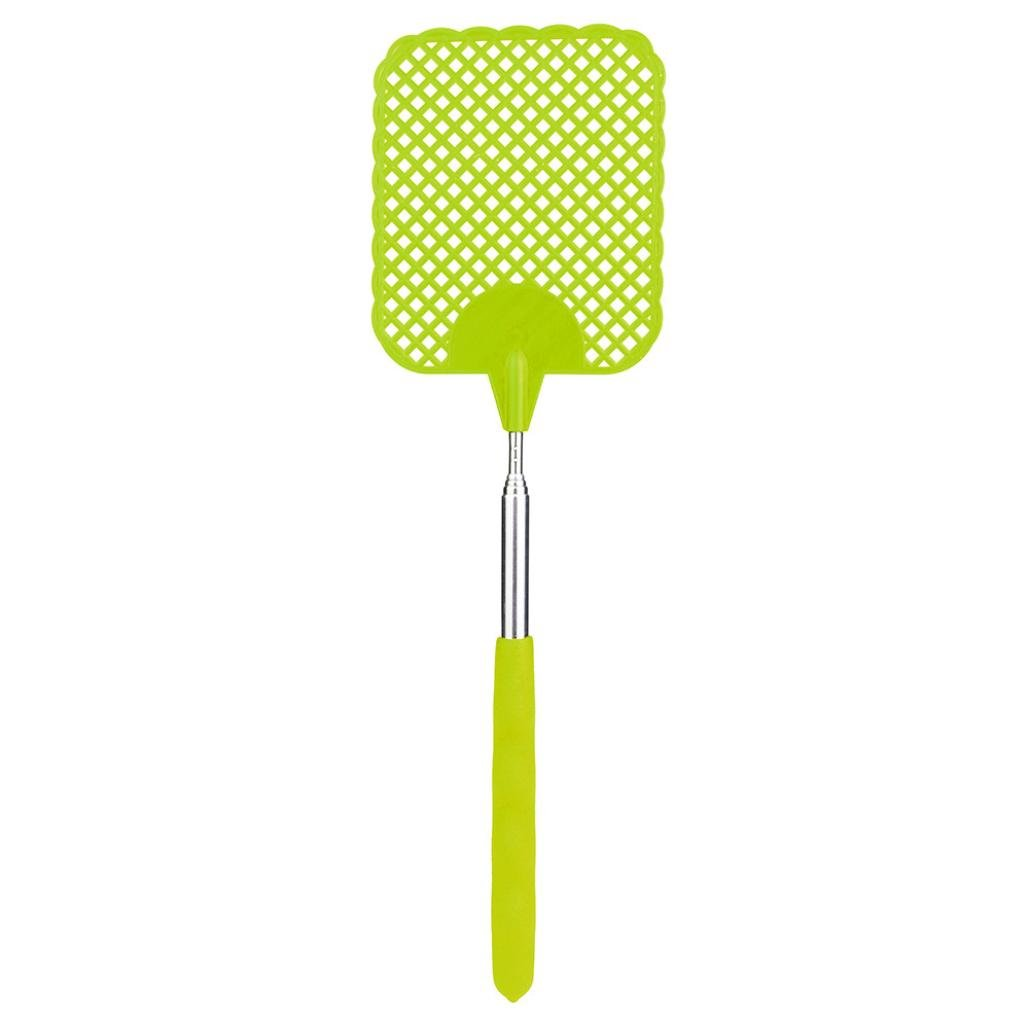 TIFENNY Electric Telescopic Extendable Fly Swatter Prevent Pest Killer Mosquito Tool for Home Indoor Outdoor