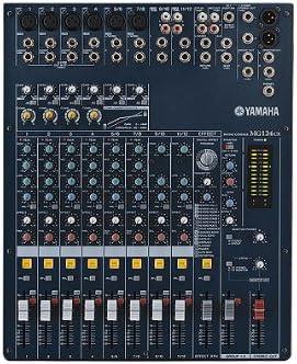 Yamaha MG124CX Mixer Series - Mesa de mezclas de audio: Amazon.es ...
