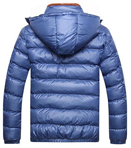 Down Outwear Waterproof Winter Hood Warm Coat LemonGirl Jacket Mens Khaki Alternative qS7Zx17A
