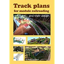 Track plans for module railroading and their design