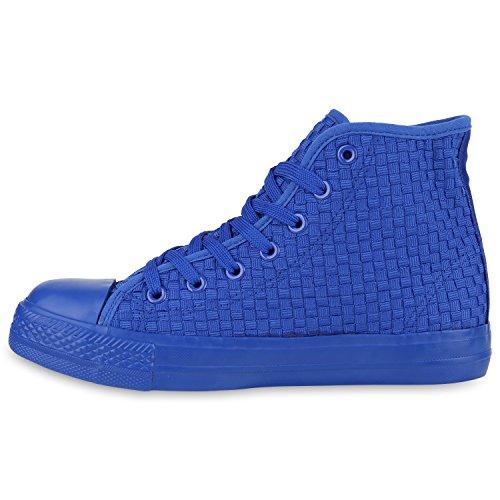 pretty nice e0469 3a8c1 Damen Sneakers Muster Camouflage Damenschuhe Glitzer ...