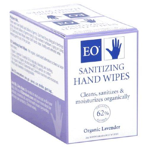 Sanitizing Hand Wipes Lavender EO product image