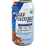 35 protein - Pure Protein 35g Shake - Cookies & Creme, 11 Ounce (Pack of 24)
