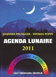 Agenda Lunaire 2011 : L'agenda tout en couleur