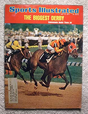 Cannonade - 1974 Kentucky Derby Winner - Sports Illustrated - May 13, 1974 - Horse Racing - SI