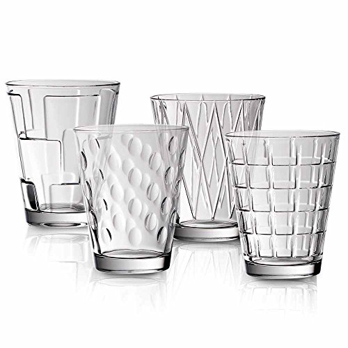 Dressed Up Tumbler Set of 4 by Villeroy & Boch
