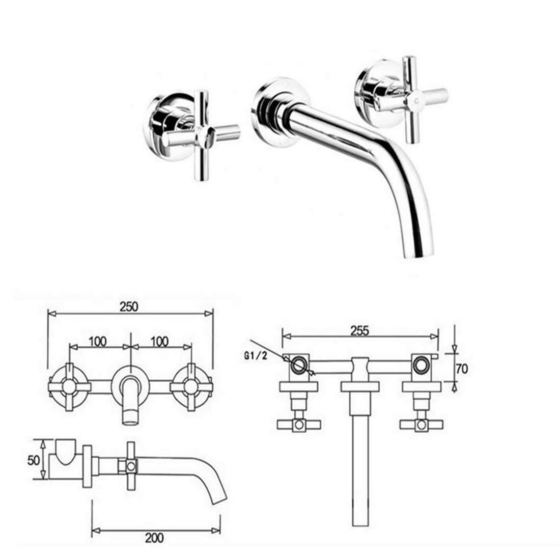 Armaturen Becken Mixerdeck Montiert Messing Vanity Sink Mischbatterie Hot & Cold Gold Messing Bad Becken Wasserhahn