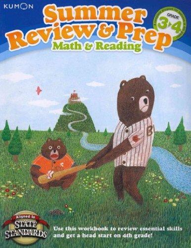 Summer Review & Prep Grade 3-4 Math & Reading (Kumon Summer Review & Prep) Summer Review & Prep Grade 3-4
