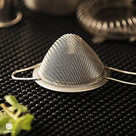 Dia *8.27 L Homestia Cocktail Barware Stainless Steel Conical Mesh Strainer 3.15