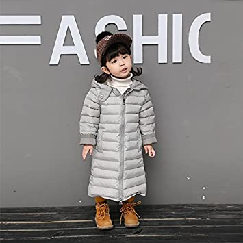 4a8a200388d6 XIU RONG Girls 1-3 Years Old Winter Winter Coat Padded Down Jacket Gray