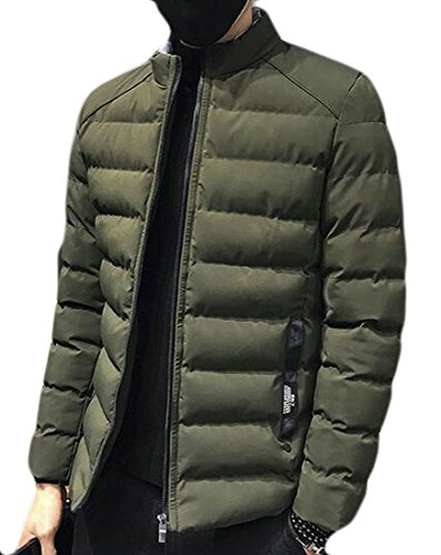 today Men's Down Jacket UK Lightweight Jacket Padded Coat Packable Green Puffa Warm r5wXrqUC