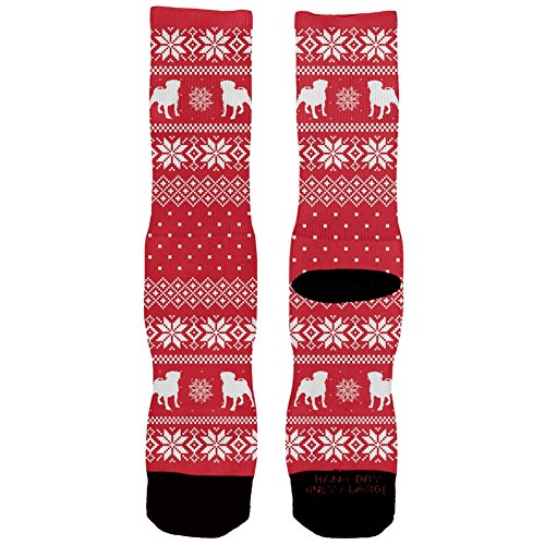 Pug Ugly Christmas Socks