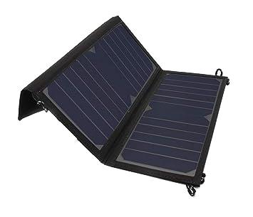 YEDENGPAO Panel De Cargador Solar, Cargador Solar De 5V 28W ...