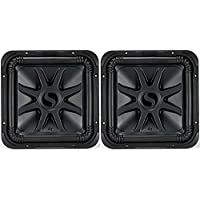 Kicker Bundle of 2 items: Two 44L7S124 12 Solo-Baric L7S Series Car Subwoofers