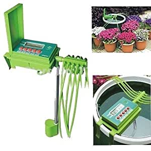 Automatic Watering Irrigation System Plant Hose Water Lawn Spray Garden Yard