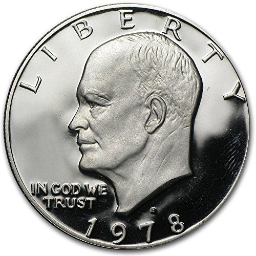 1978 S Eisenhower Dollar US Coin Ike $1 Gem Proof