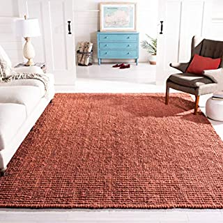 Safavieh Natural Fiber Collection NF447C Hand Woven Rust Jute Square Area Rug (8' Square) (B00E2ONM6Y) | Amazon price tracker / tracking, Amazon price history charts, Amazon price watches, Amazon price drop alerts