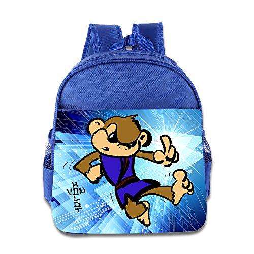 Crimson Peak Costumes (Discovery Wild Kids Child Backpack Satchel School Book Bag, Cartoon Wook Fall Down - RoyalBlue)