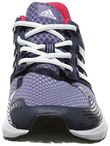 adidas Duramo 8, Chaussures de Running Compétition Femme Rose (Super Purple/collegiate Navy/footwear White)